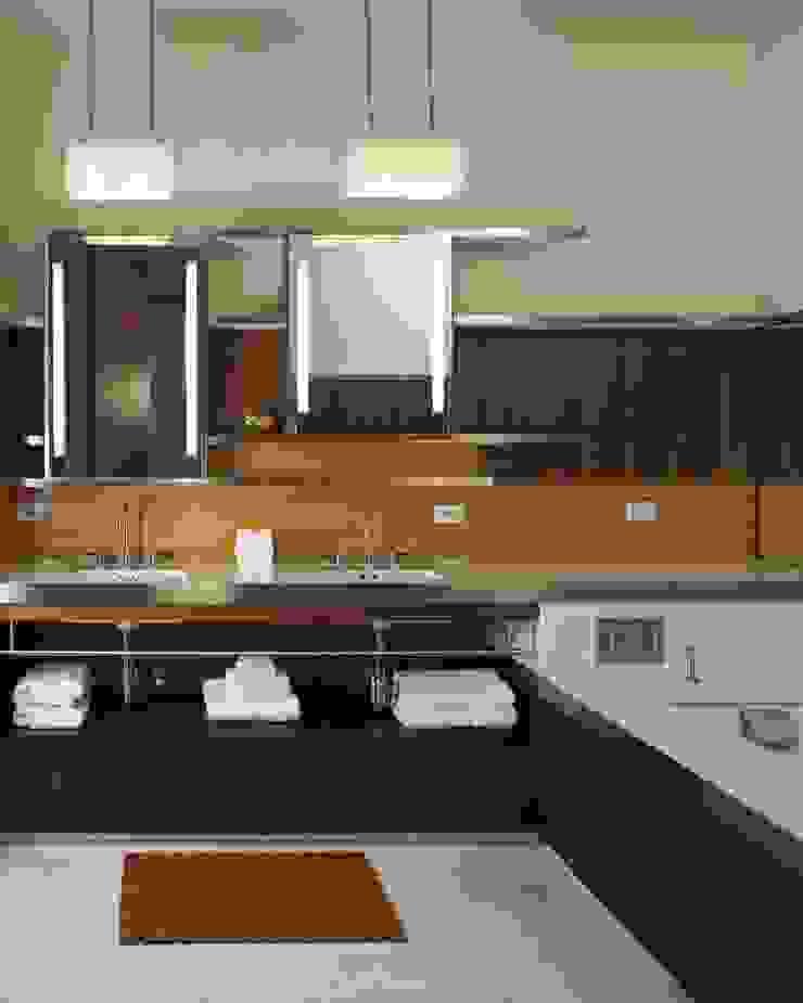 Soho Master Bathroom Lighting Modern bathroom by Hinson Design Group Modern