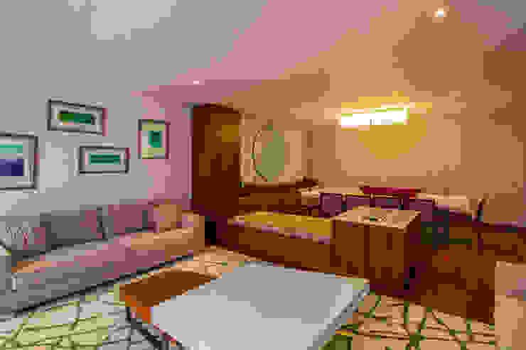 Casa Gonmar Salones modernos de DIN Interiorismo Moderno