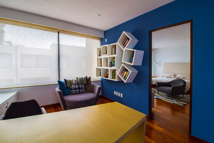 Casa Gonmar Estudios y despachos modernos de DIN Interiorismo Moderno