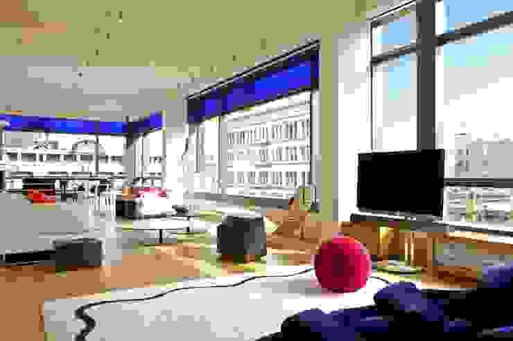 Soho Living Room Lighting Modern living room by Hinson Design Group Modern