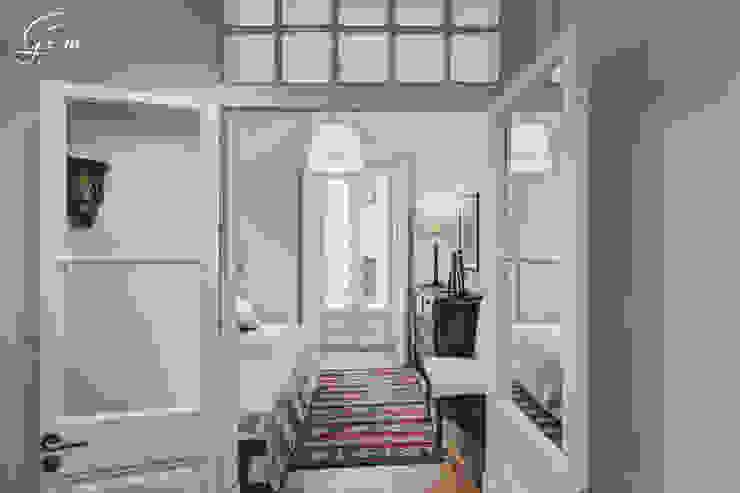 Casa Pombalina: <q>de velho a novo</q>. Quartos rústicos por Obrasdecor Rústico Madeira Acabamento em madeira