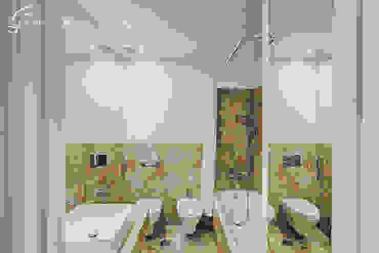 Casa Pombalina: <q>de velho a novo</q>. Casas de banho rústicas por Obrasdecor Rústico Azulejo