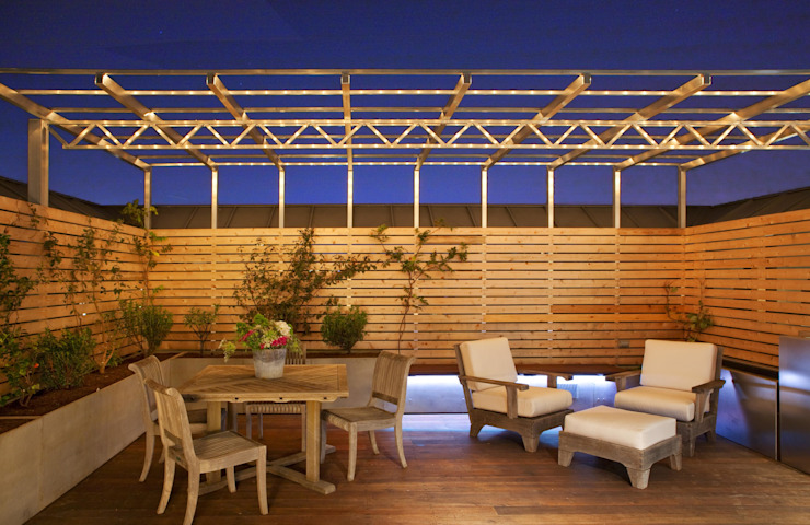 Modern DC Patio Lighting Modern houses by Hinson Design Group Modern