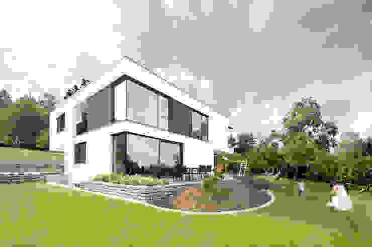 wohnhaus a Moderne Häuser von sebastian kolm architekturfotografie Modern