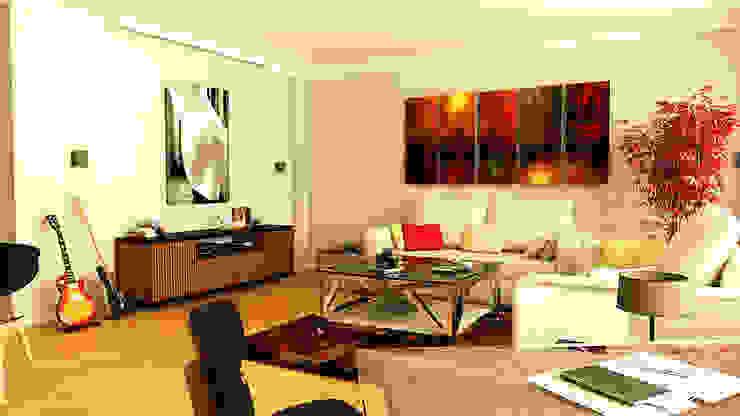 Moderne Wohnzimmer von İndeko İç Mimari ve Tasarım Modern