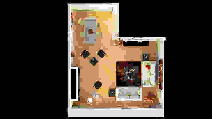 İndeko İç Mimari ve Tasarım Modern Living Room