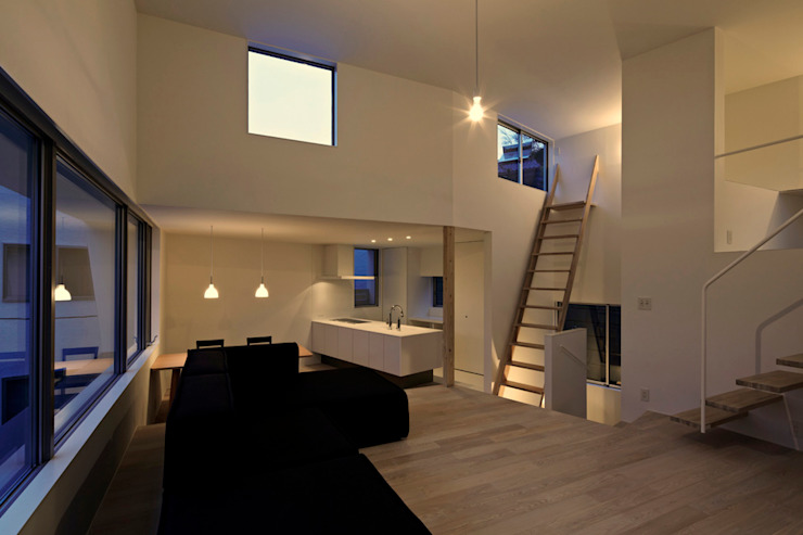桑原茂建築設計事務所 / Shigeru Kuwahara Architects Living room
