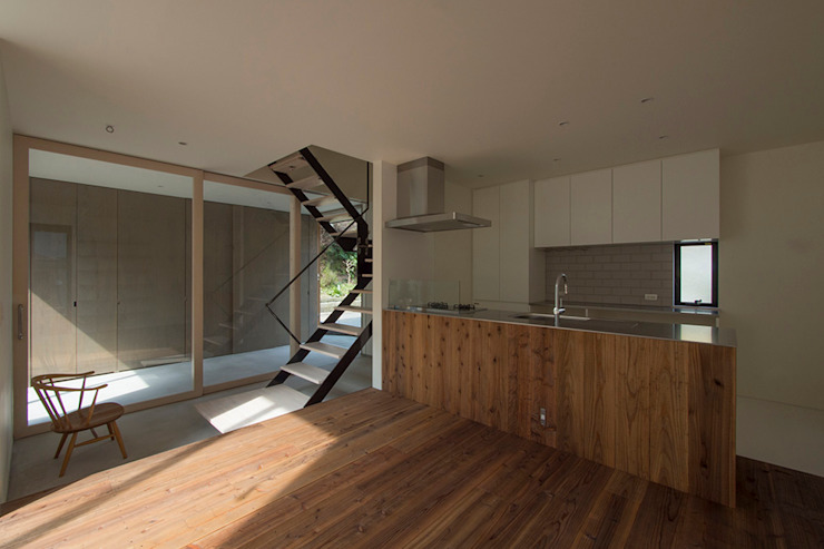 桑原茂建築設計事務所 / Shigeru Kuwahara Architects Modern Dining Room