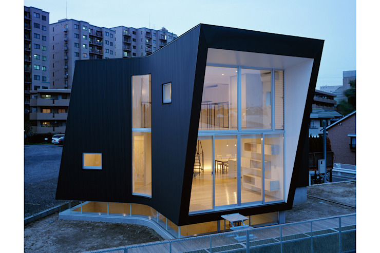 Minimalist house by 桑原茂建築設計事務所 / Shigeru Kuwahara Architects Minimalist