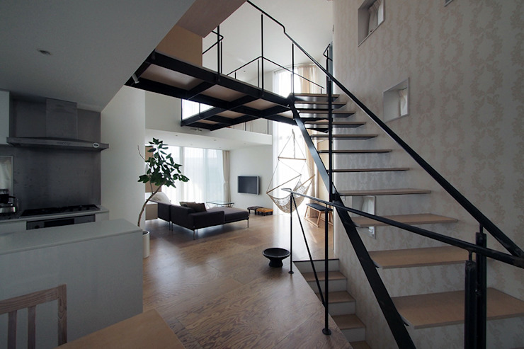 Ruang Makan Minimalis Oleh 桑原茂建築設計事務所 / Shigeru Kuwahara Architects Minimalis