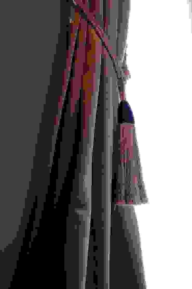 Window Fashion van AVdeco Klassiek Textiel Amber / Goud