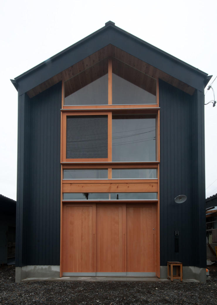 Casas de estilo rústico de FrameWork設計事務所 Rústico