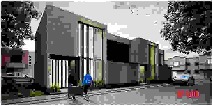 Minimalist house by Estudio Meraki Minimalist Bricks