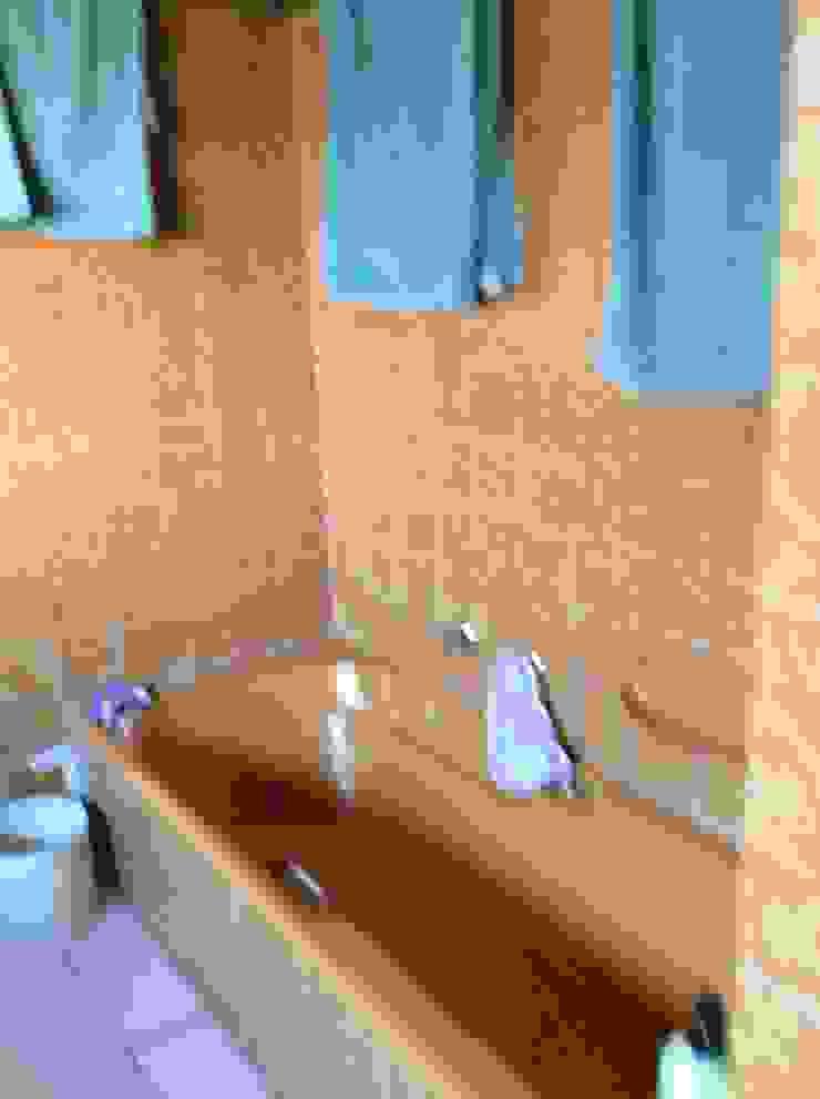 View of bath before: rustic  by Urban Dwellers Design Studio, Rustic
