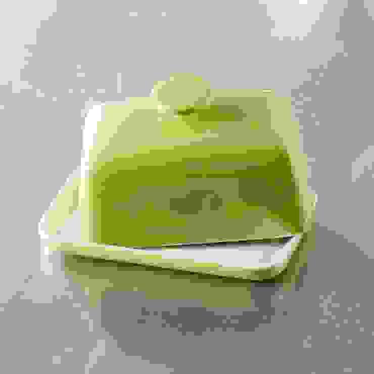 Butterdose S&P Studio, 15x10cm, grün von homify Ausgefallen Keramik