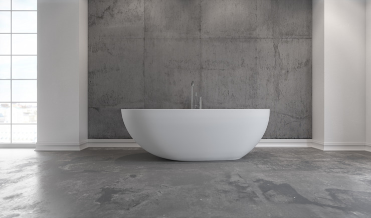 Copenhagen Bath - Hammershus Badewanne Copenhagen Bath BadezimmerWannen und Duschen Weiß