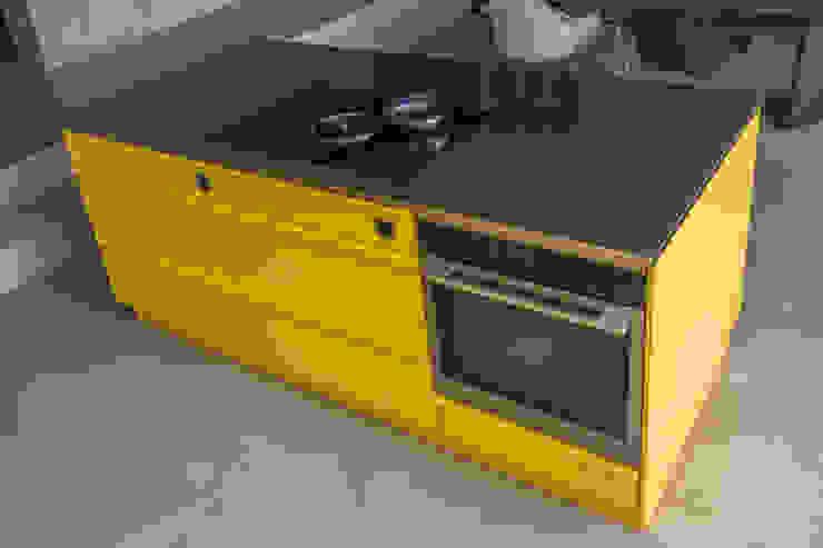 Popstahl Küchen Dapur Modern Yellow