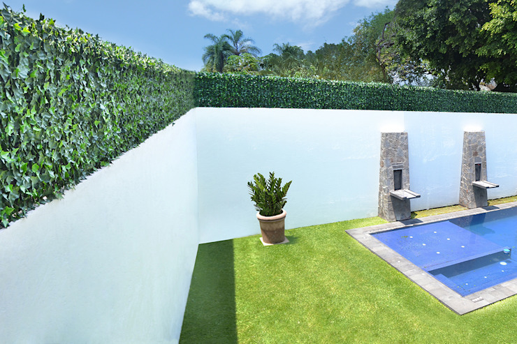 Muros Verdes Exteriores Locaciones para eventos de estilo moderno de Ranka Follaje Sintético Moderno