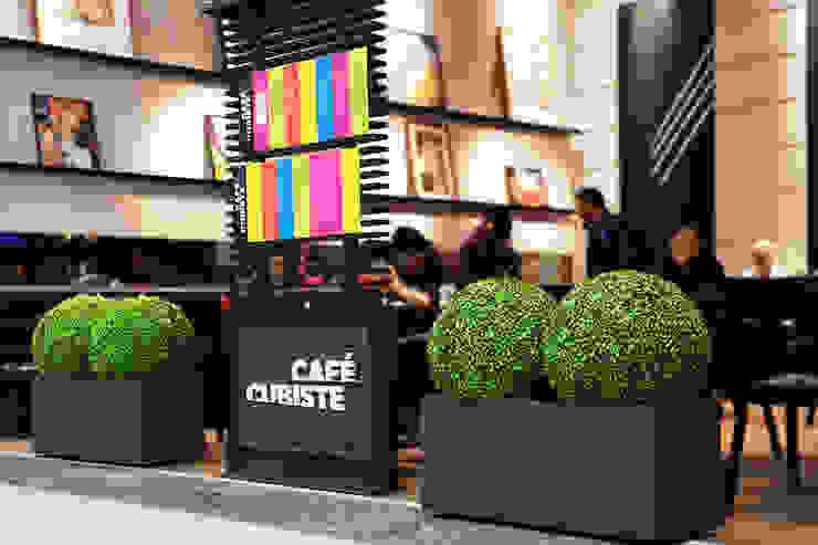 Oficinas y tiendas de estilo moderno de Ranka Follaje Sintético Moderno
