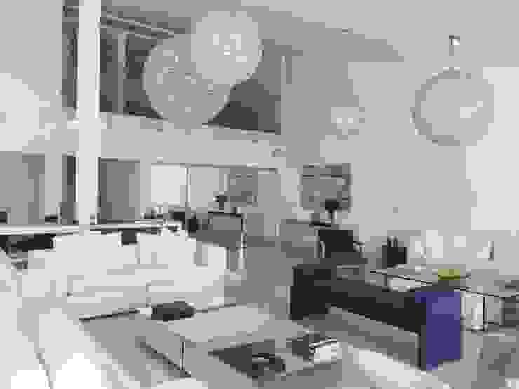 Moderne woonkamers van GEA Arquitetura Modern