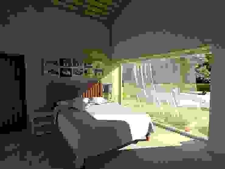 Módulos para turismo rural Quartos minimalistas por Grupo Norma Minimalista