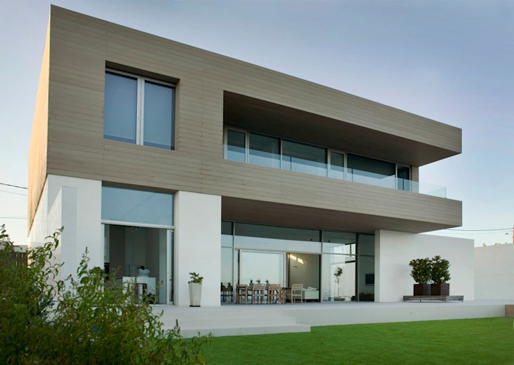 CASA SEACUB Casas de estilo minimalista de RM arquitectura Minimalista