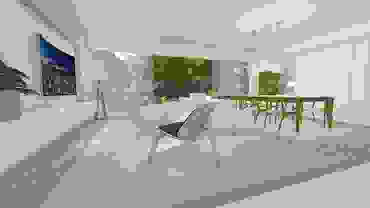 Livings de estilo moderno de Renata Matos Arquitetura & Business Moderno Derivados de madera Transparente