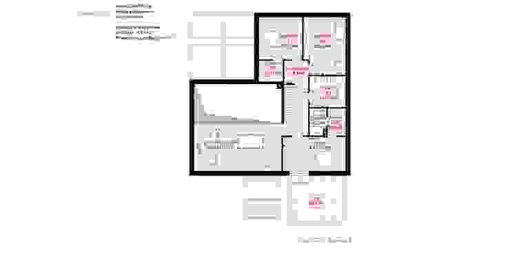 HomeKONCEPT | Projekty Domów Nowoczesnych: modern tarz , Modern