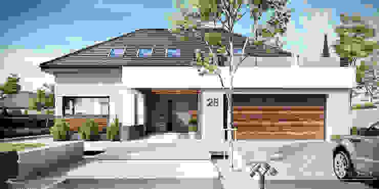 Moderne Häuser von HomeKONCEPT | Projekty Domów Nowoczesnych Modern