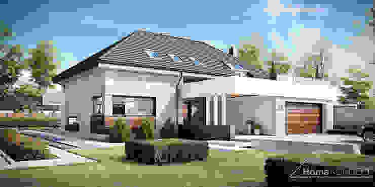 現代  by HomeKONCEPT | Projekty Domów Nowoczesnych, 現代風
