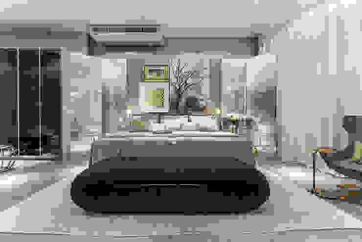 de Renata Matos Arquitetura & Business Moderno Lino Rosa