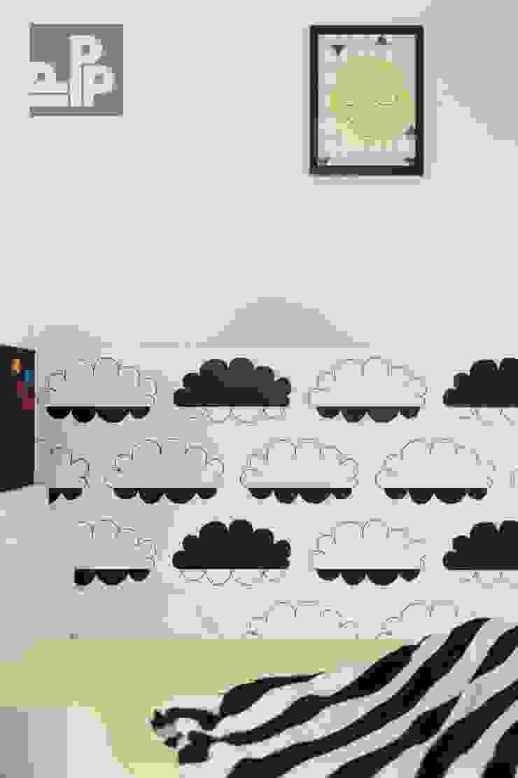Chambre d'enfant scandinave par Pogotowie Projektowe Aleksandra Michalak Scandinave