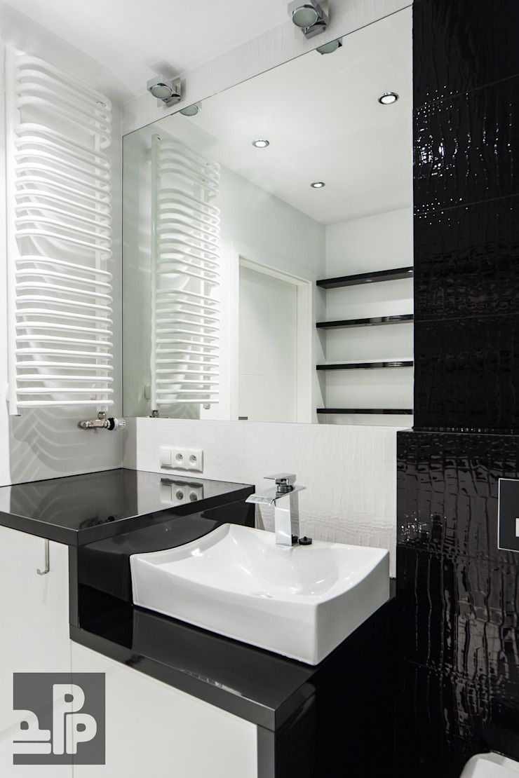 Pogotowie Projektowe Aleksandra Michalak Baños de estilo moderno