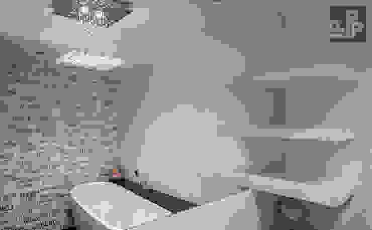 Modern bathroom by Pogotowie Projektowe Aleksandra Michalak Modern