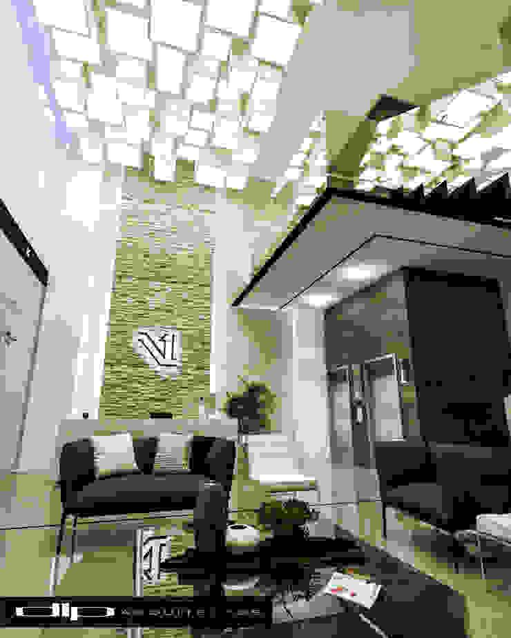 TORRE V1 Estudios y despachos modernos de dlp Arquitectos Moderno