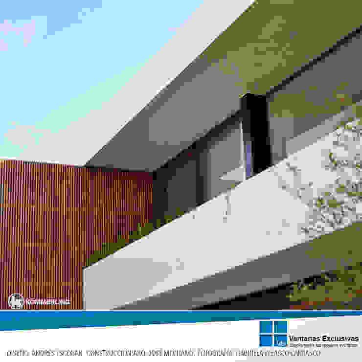 Armonía Visual de Ventanas Exclusivas Guadalajara Moderno