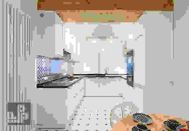 Pogotowie Projektowe Aleksandra Michalak Eclectic style kitchen