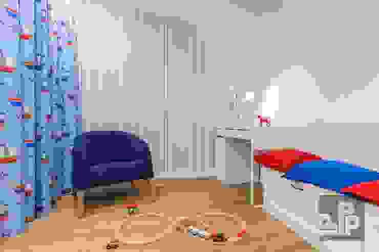 Chambre d'enfant originale par Pogotowie Projektowe Aleksandra Michalak Éclectique