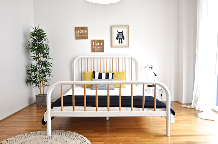 Karin Armbrust - Home Staging Scandinavian style bedroom