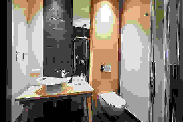 Minimalist style bathroom by Pracownia Projektowa Hanna Kłyk Minimalist