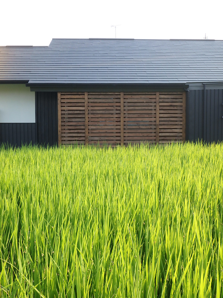 西川真悟建築設計 Asian style houses Wood