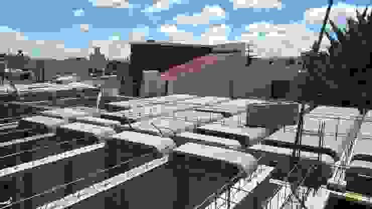 """PROYECTO NUEVO """"TULIPANES """", PACHUCA HIDALGO Casas modernas de ARQGC GRUPO CONSTRUCTOR Moderno Concreto"""