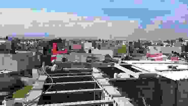 PROYECTO NUEVO <q>TULIPANES </q>, PACHUCA HIDALGO Casas modernas de ARQGC GRUPO CONSTRUCTOR Moderno Cerámico