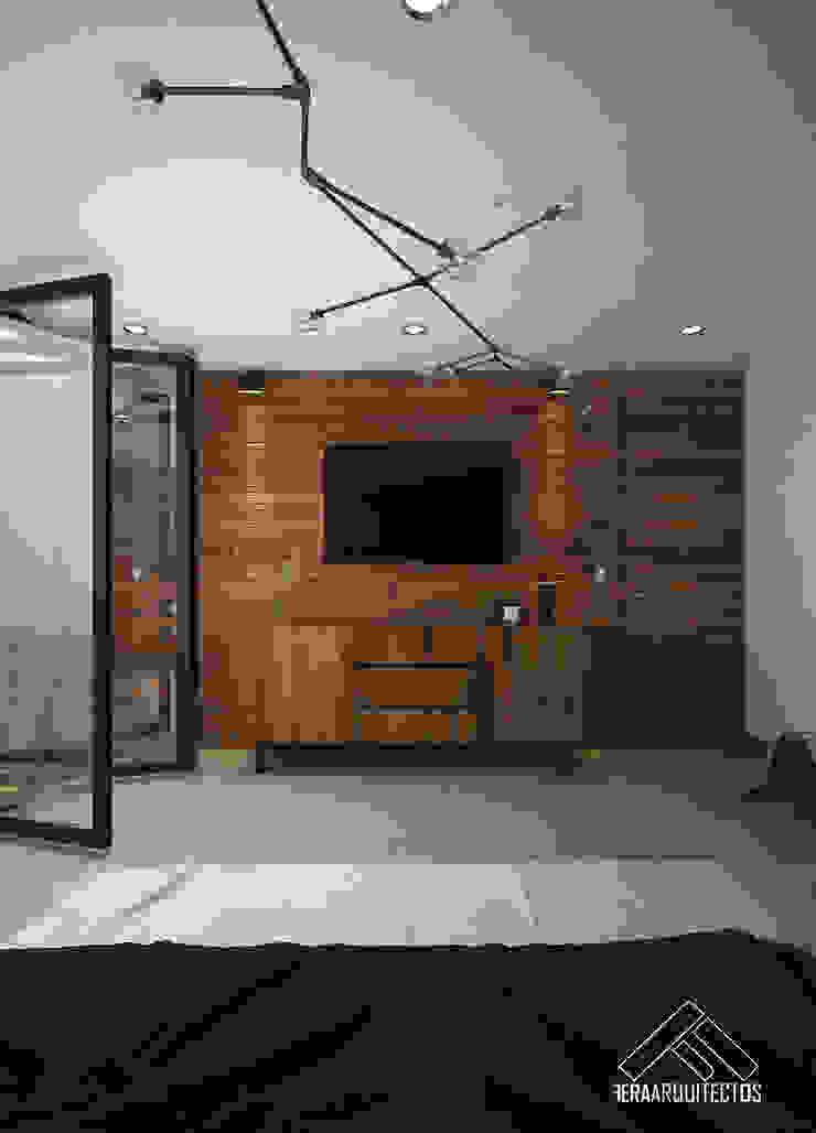 RECAMARA PPAL Dormitorios modernos de FERAARQUITECTOS Moderno