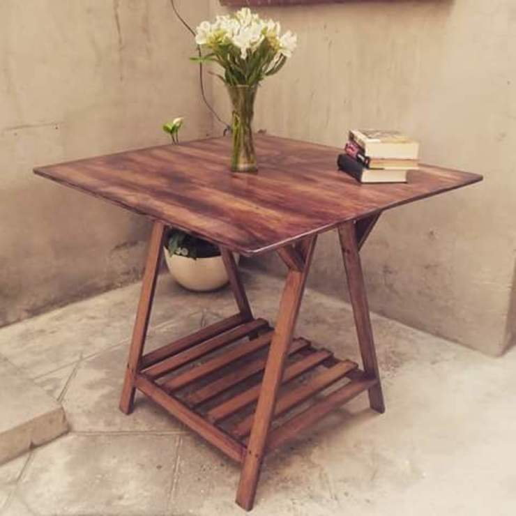 Departamento Seis Dining roomTables Gỗ Wood effect