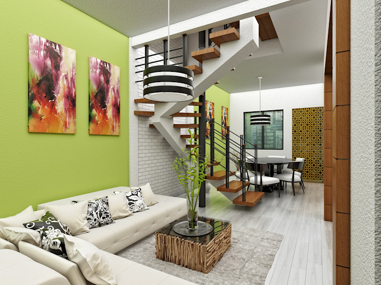 Estanica Comedor de LOFT ESTUDIO arquitectura y diseño Moderno
