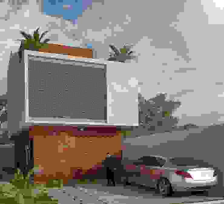 Modern houses by LOFT ESTUDIO arquitectura y diseño Modern Bricks