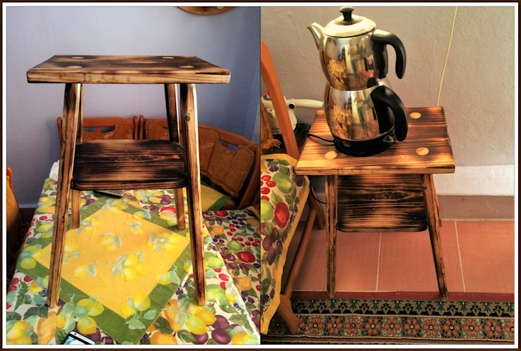 Orta sehpa(table) Coşkun Ahşap Dekorasyon Rustik Ahşap Ahşap rengi
