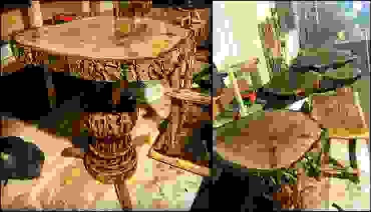 ceviz sehpa (walnut table) Coşkun Ahşap Dekorasyon Rustik Ahşap Ahşap rengi