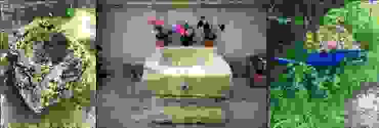 taş lavabo Coşkun Ahşap Dekorasyon Rustik Taş